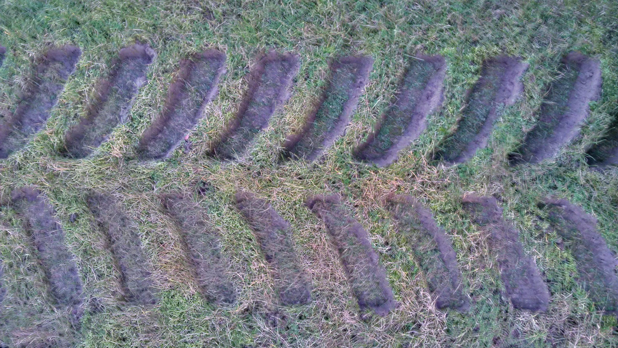Bridgestone Series 6 track footprint