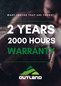 outland tracks warranty
