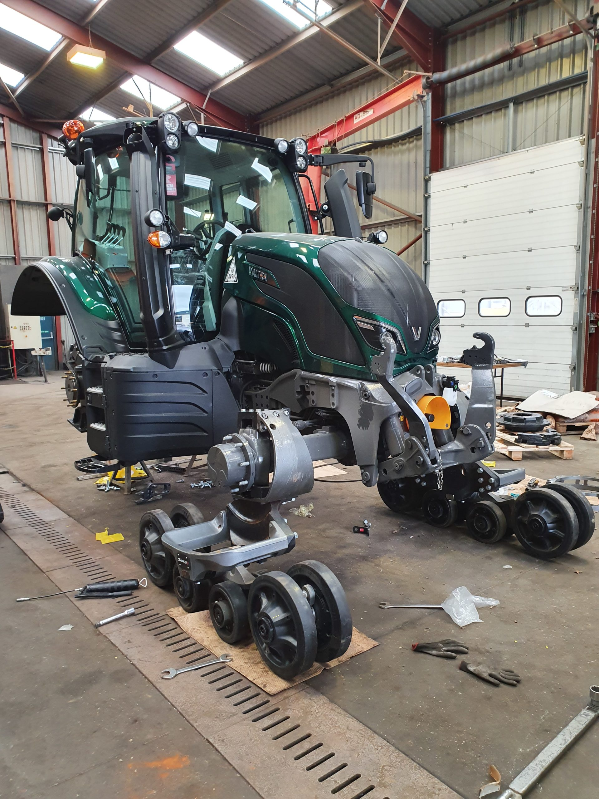 Outland Workshops have the ability to carry out complex installations.