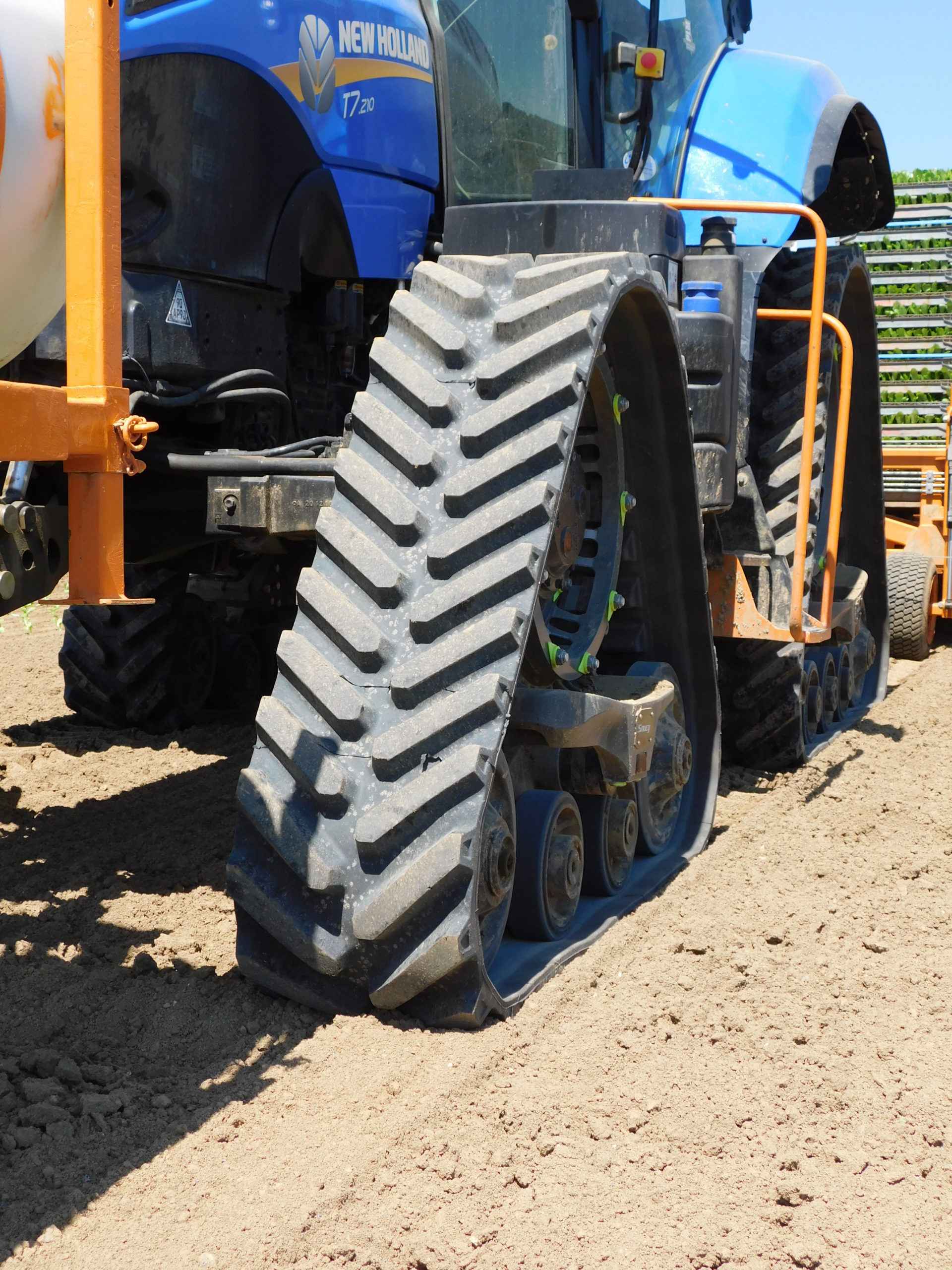 Soucy STech 616 fitted to NH T7.210 working in West Sussex